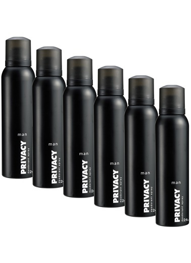 Privacy Men Deodorant 6X150Ml Renkli